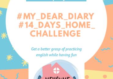#My Dear Diary 2 ° Corona Virus challenge